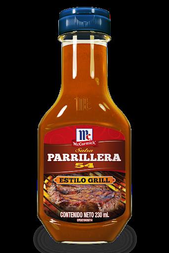salsa mc cormick parrillera 54 230gr