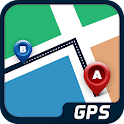GPS Travel Route Finder icon