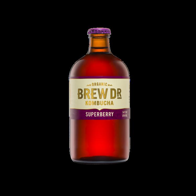 Logo of Brew Dr. Kombucha Superberry