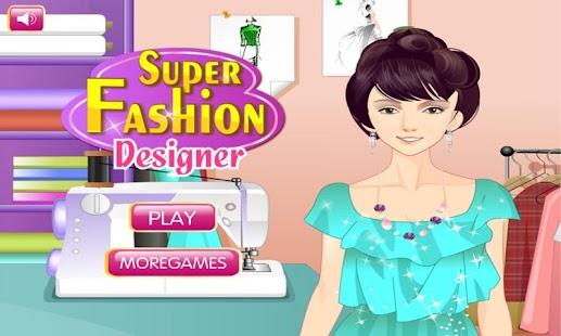 Super Fashion Designer Hd Screenshot Thumbnail