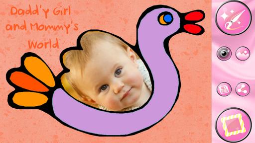 Baby Photo Frames Editor