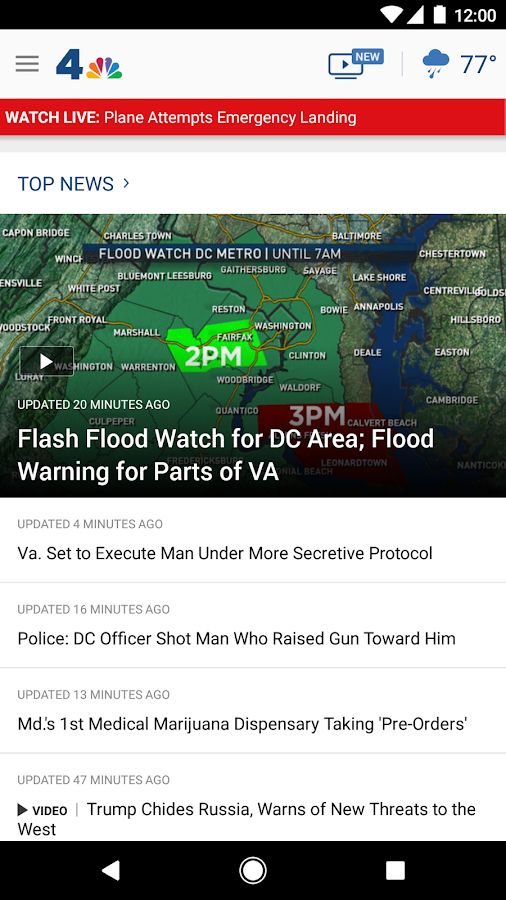 NBC4 Washington- screenshot