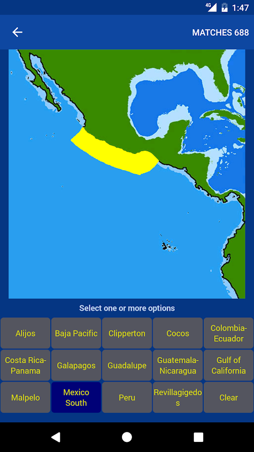 Fishes: East Pacific- screenshot