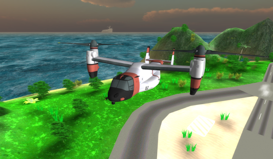 Airplane Helicopter Pilot 3D- screenshot thumbnail