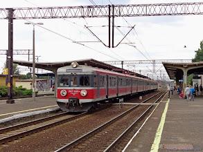 """Photo: EN57-1688 & EN57-1463, IR """"Drwęca"""" Olsztyn Główny - Poznań Główny {Toruń Wschodni; 2014-08-13}"""