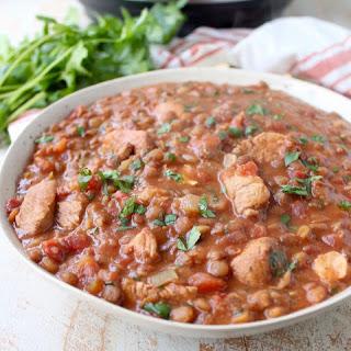 Instant Pot Chicken Tikka Masala with Lentils Recipe