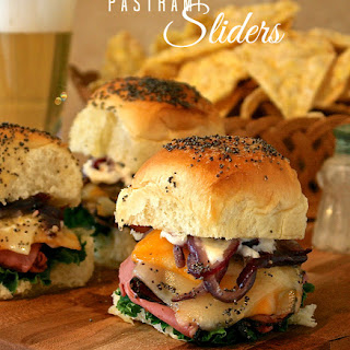 Buttery Co-Jack & Swiss Pastrami Sliders