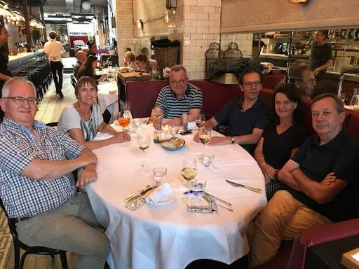 Ruit 9: Ed, Dymphna, Hans, Daan, Erna en Nico