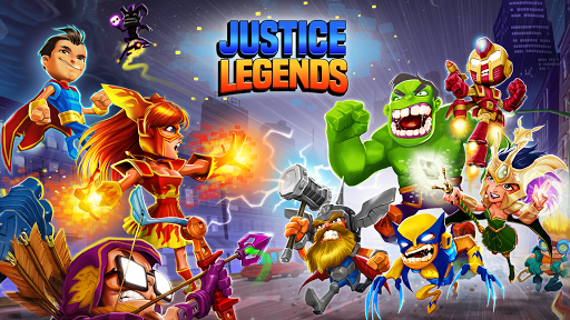 Justice Legends - Heroes War: Superhero Games  gameplay | by HackJr.Pw 5