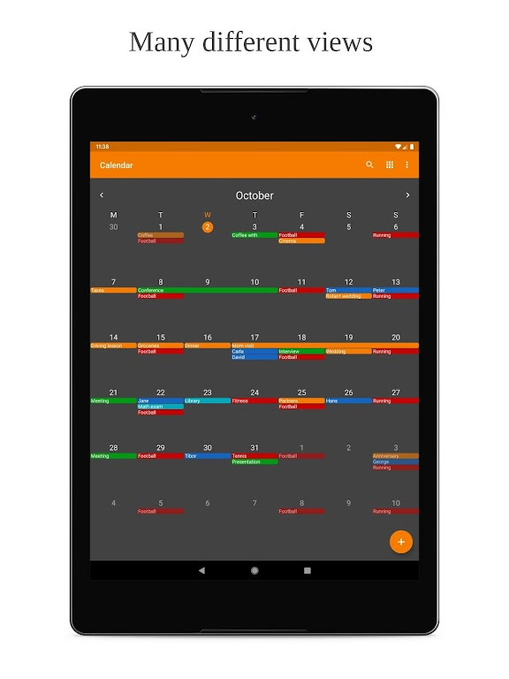 Simple Calendar Pro - Events & Reminders Manager  poster 6