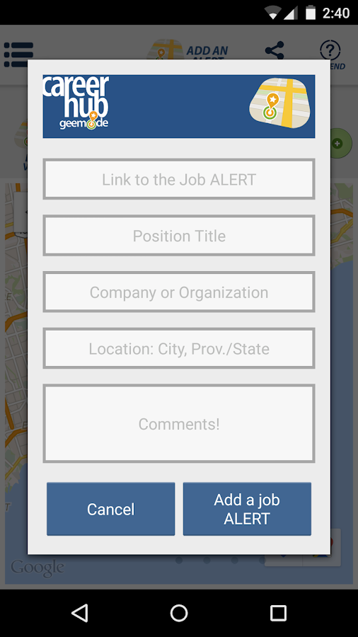 Career Hub- screenshot