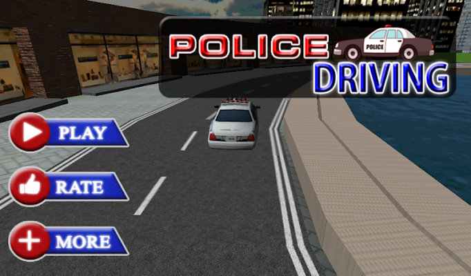 Russian Police Driver Sim 3D - screenshot