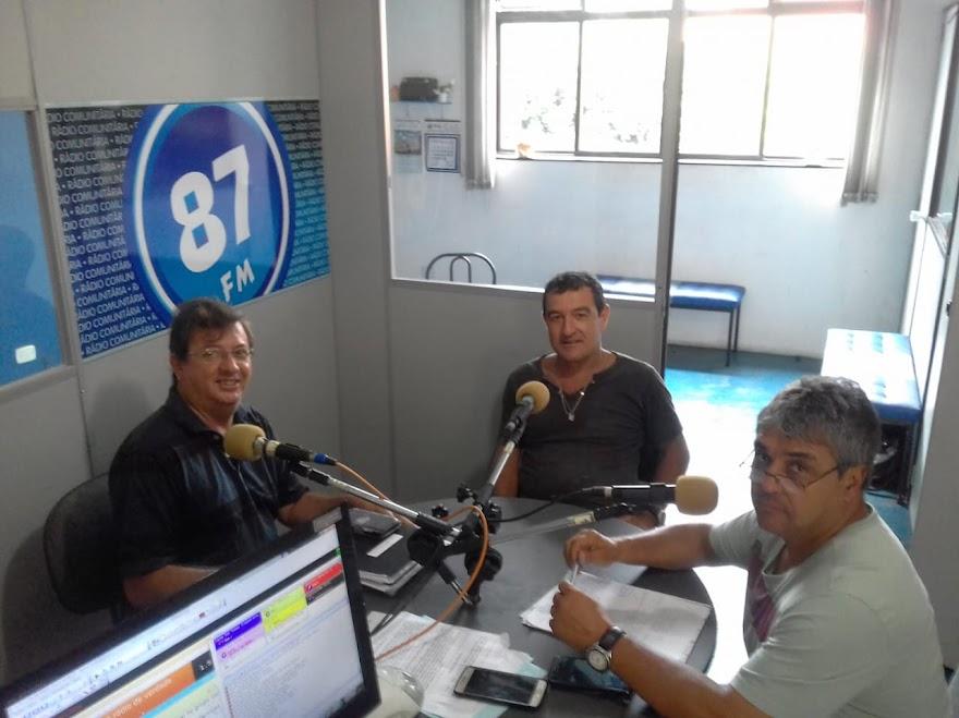 Edir Mesquita, José Escarassati Filho e Donacio Silva