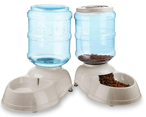 Self-Dispensing Pet Food & Water Bowl Set Only $17.99 on Zulily (Regularly $36)