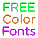 Color Fonts for FlipFont #7 icon