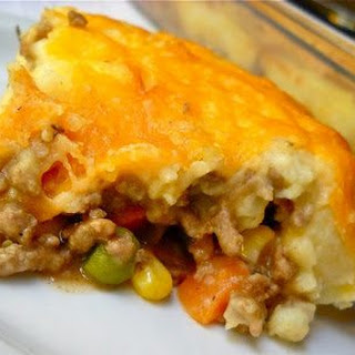 Cheesey Shepherd's Pie.