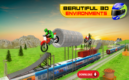 Bike Stunt Racing 3D - Free Games 2020 1.2 Paidproapk.com 2