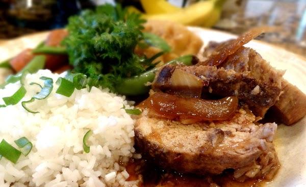 Chinese Pork Roast And Dumplings -- Bonnie's Recipe