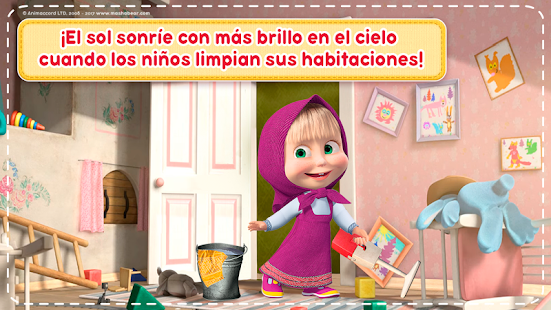 Masha y el Oso: Juegos de Limpieza de Casas Gratis - Aplicaciones en ...