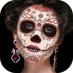 Day of the Dead Makeup – Sugar Skull Face Masks