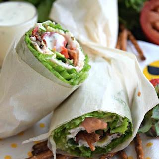Low-Carb Turkey Club Lettuce Wrap with Ranch Recipe