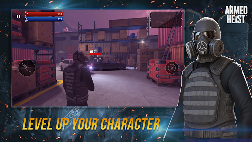 Armed Heist: TPS 3D Sniper shooting gun games apkdebit screenshots 6