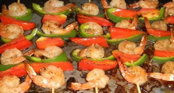 Vanillated Shrimp Kebab