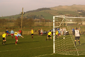 Photo: 29/03/12 v Grassington United (Craven & District League Premier Division) 1-1 - contributed by Mike Latham