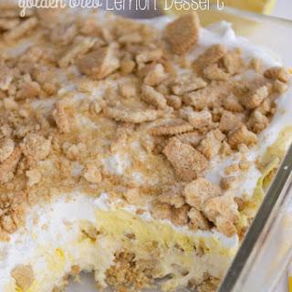 No Bake Golden Oreo Lemon Dessert.