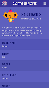 Sagittarius Horoscope- screenshot thumbnail