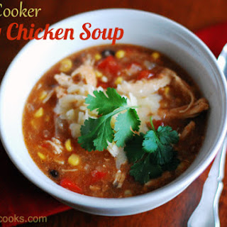 Slow Cooker Spicy Chicken Soup – with variations to fit your pantry