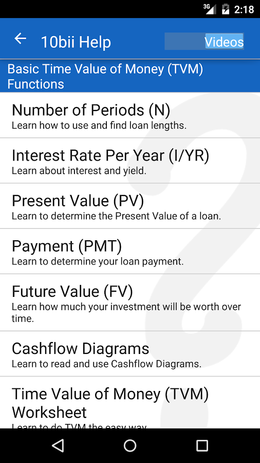 10bii Financial Calculator- screenshot