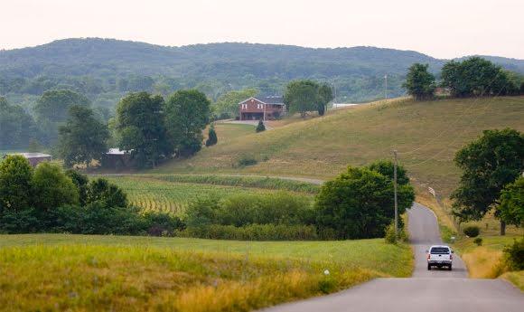 KY rural road