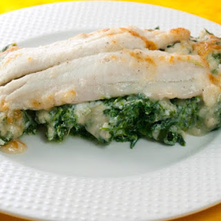 Flounder With Spinach-Ricotta Filling