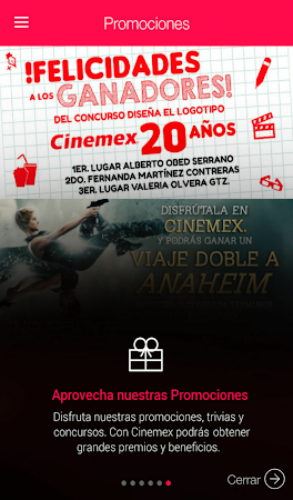 Cinemex 2.0.6 screenshot 236962