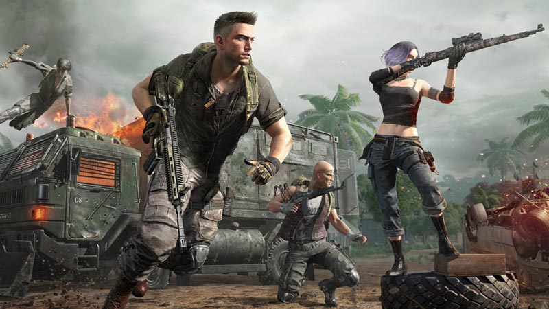 PlayerUnknwon's Battleground Video Game
