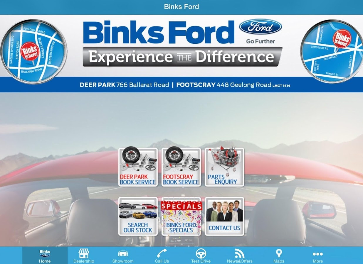 Binks Ford- screenshot
