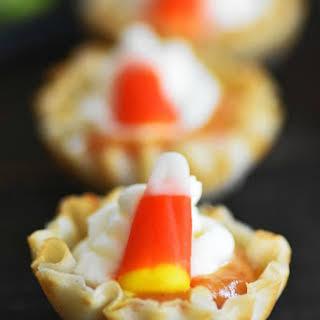 No-Bake Pumpkin Pie Pudding Filled Bites.