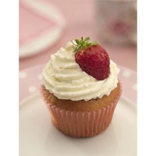Aardbeien Roomcupcakes