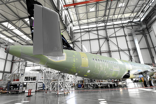 European plane maker Airbus has experienced a rise in demand for its A320neo passenger jet, which has led the company to update its sales forecast for the aircraft. The company expects to produce up to 70 units a month over 20 years. Picture: REUTERS