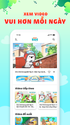 POPS Kids TV - Ứng dụng xem phim, ca nhạc cho bé screenshot