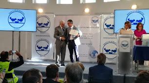 Juan Colomina recogió en Madrid el reconocimiento