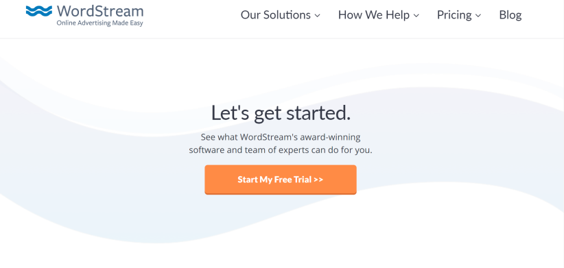 WordSream Color Scheme