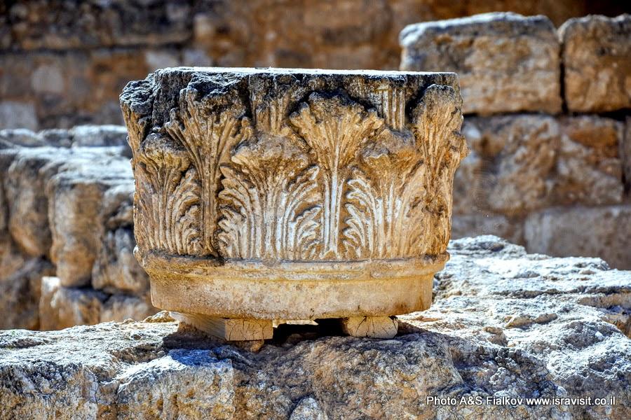 Руины дворца Ирода Великого в Иродионе. Экскурсии в Израиле.