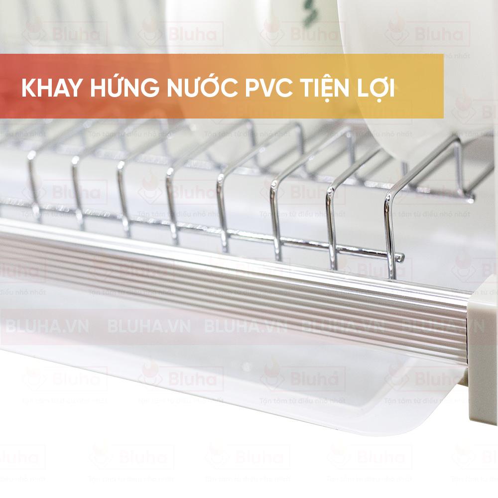 Khay hứng nuwocs PVC tiện lợi - Giá bát cố định Eurogold EP.86 - Phụ kiện bếp chính hãng