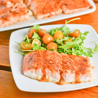 Brown Sugar Spiced Salmon.