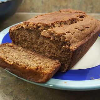 Gluten-free & No Refined Sugar Banana Bread