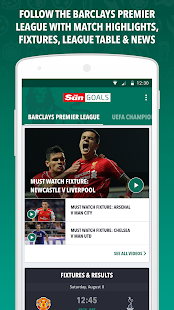 Sun Goals - Football Scores- screenshot thumbnail