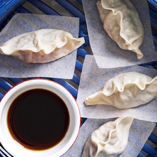 Steamed Pork and Fish Dumplings Recipe