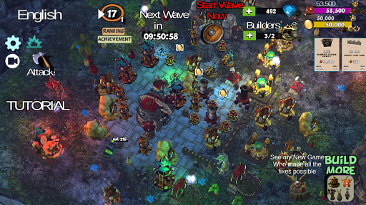 ☣️ Clash Of Orcs ⛺️ City Building Defense War TD 3.42 screenshots 2